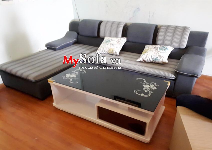 Bộ ghế Sofa nỉ cho phòng khách AmiA SFN126 | mySofa.vn