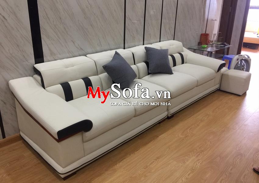 Mẫu ghế Sofa da dạng văng dài AmiA SFD124A | mySofa.vn