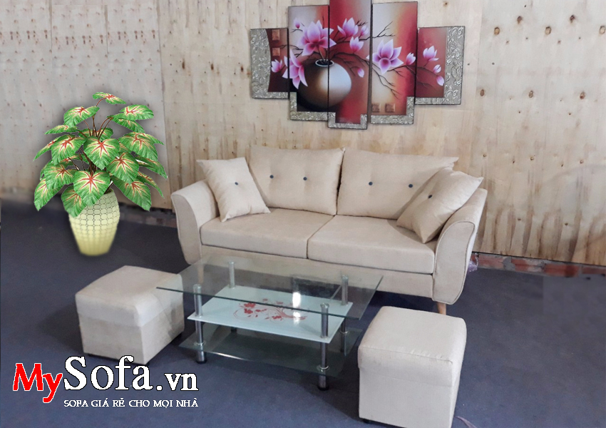 Bộ văng Sofa chất liệu nỉ AmiA SFN156