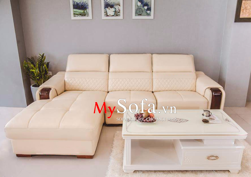 Bộ ghế Sofa da cao cấp, thời thượng AmiA SFD130