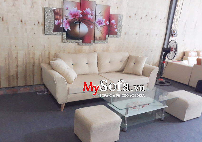 Hình ảnh bộ văng Sofa chất liệu nỉ AmiA SFN156