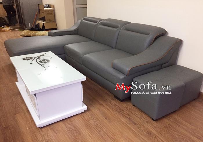Mẫu ghế Sofa góc chữ L AmiA SFD097
