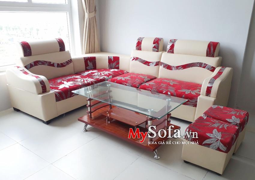 Mẫu ghế Sofa đẹp giá rẻ AmiA SFD138 cho không gian nhỏ