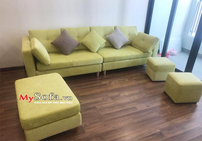 Ghế Sofa nỉ dạng văng AmiA SFN161 - MySofa.vn