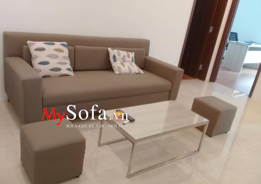 Mẫu Sofa văng cho phòng khách mini AmiA SFV096