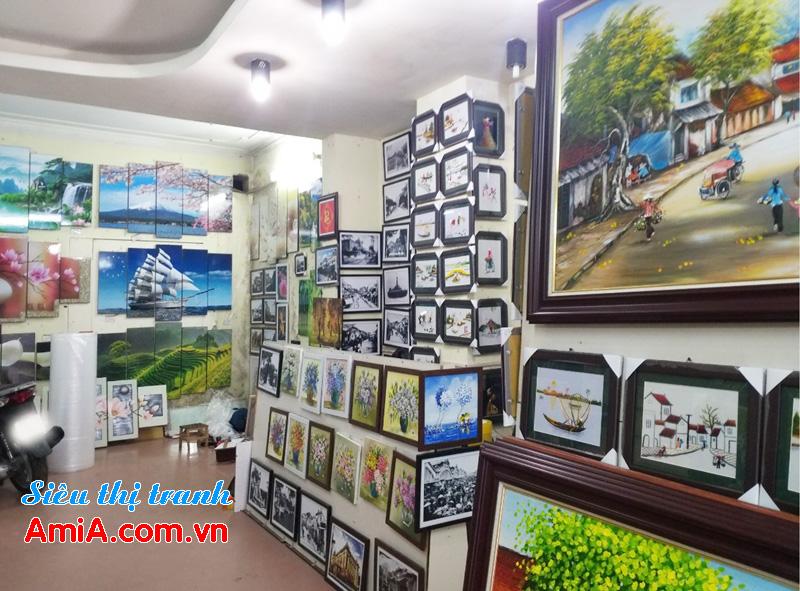 Bán tranh treo tường đẹp hiện đại tại Hà Nội