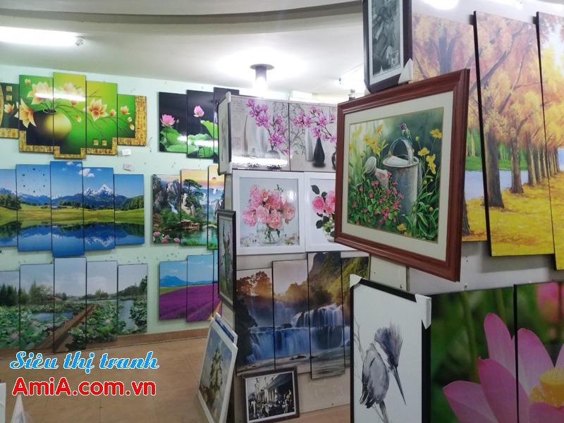 Bán tranh treo tường phòng khách đẹp tại Hà Nội
