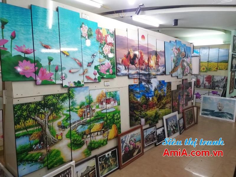 Cửa hàng bán tranh treo tường ở tại Hà Nội