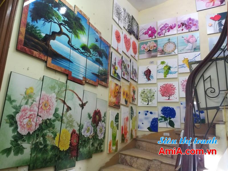 Cửa hàng bán tranh treo tường phòng ngủ đẹp