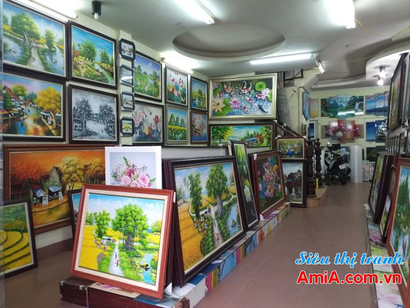 Địa chỉ bán tranh treo tường ở tại Hà Nội