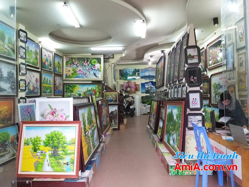 Mua tranh treo tường đẹp giá rẻ ở tại Hà Nội