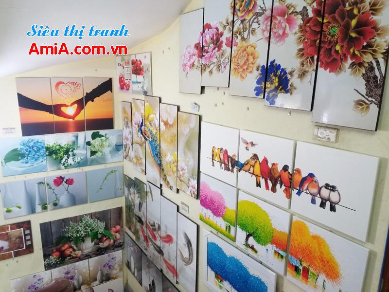 Mua tranh treo tường phòng khách đẹp ở đâu tại Hà Nội