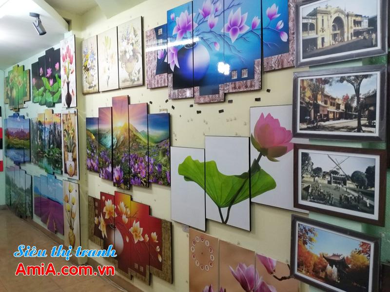 Shop bán tranh treo tường đẹp tại Hà Nội