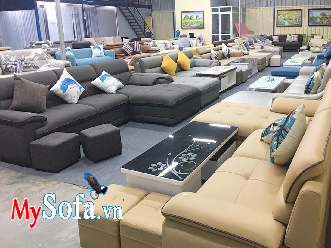 Địa chỉ bán ghế sofa nỉ đẹp giá rẻ