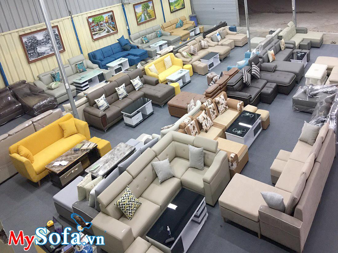 Ghế sofa da đẹp giá rẻ